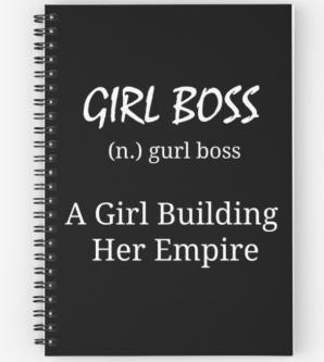 Girlboss_spiral_notebook